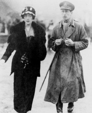 Agatha és Archibald Christie 1919-ben