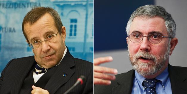 Toomas Hendrik Ilves és Paul Krugman: az opera ihletői (Fotó: now.msn.com)