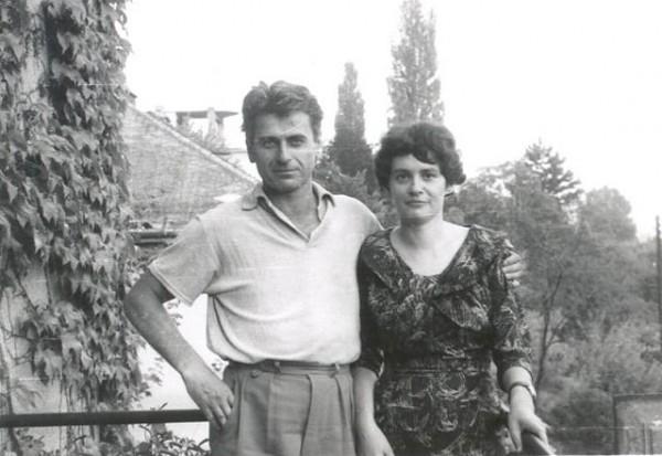 Mészöly Miklós és Polz Alaine az '50-es években (Fotó: cultura.hu)