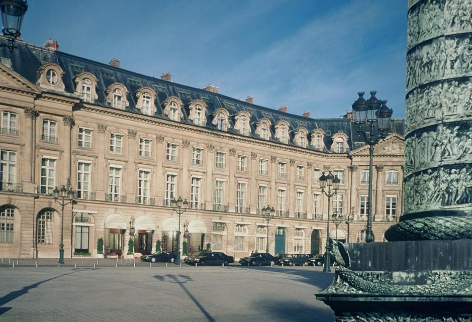 A Ritz Hotel Párizsban: itt találták az értékes festményt