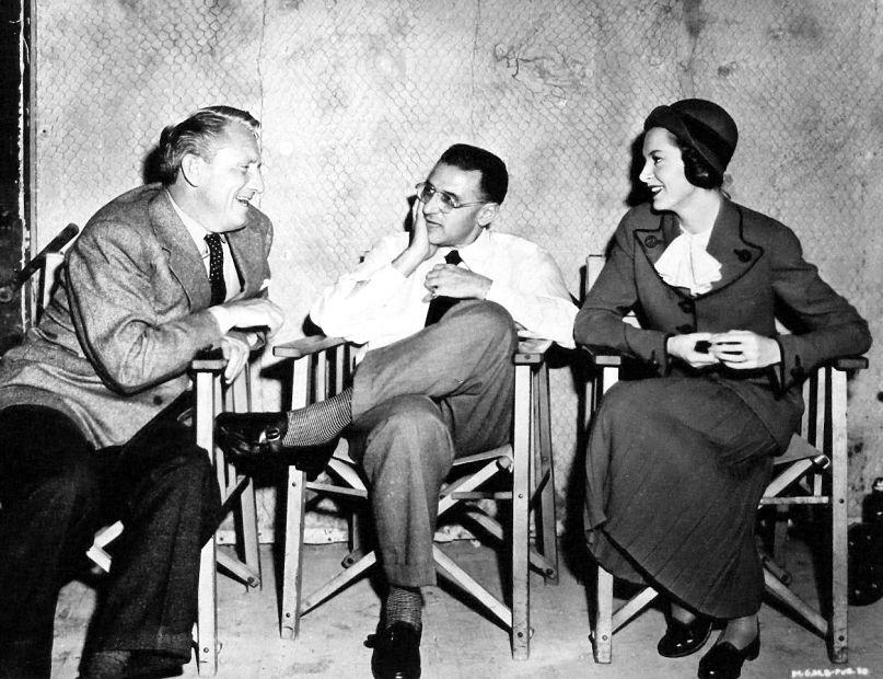 Spencer Tracy, George Cukor és Deborah Kerr (Fotó: acertaincinema.com)