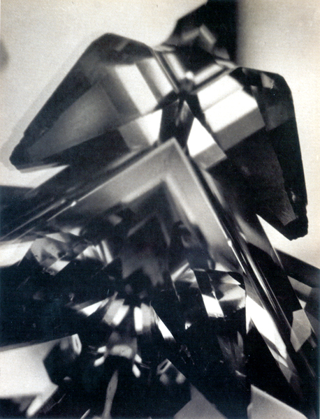 Alvin Langdon Coburn: The Eagle (Vortograph), 1917