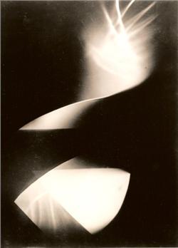 Moholy-Nagy László: Fotogramm, 1925