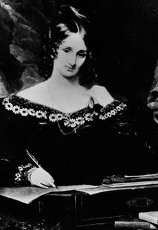 Mary Shelley (Fotó: parameter.sk)