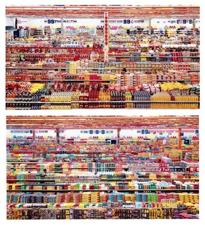 Andreas Gursky: 99 Cent II Diptychon