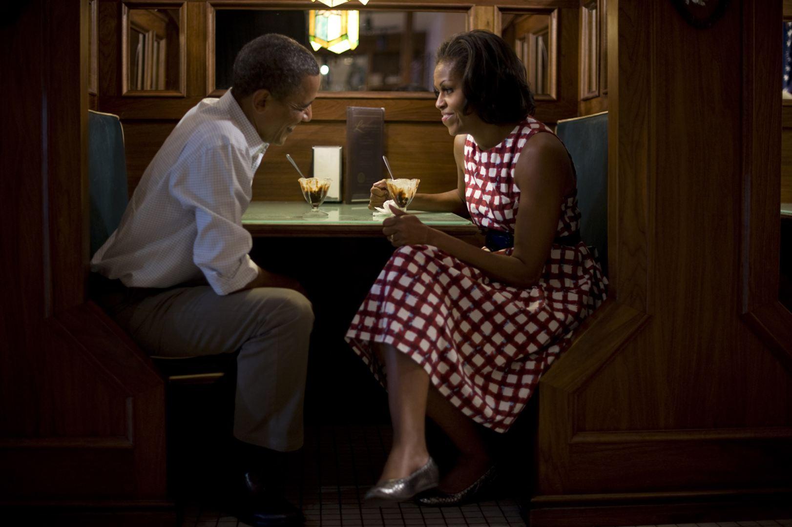 Barack és Michelle Obama (Fotó: Scout Tufankjian)