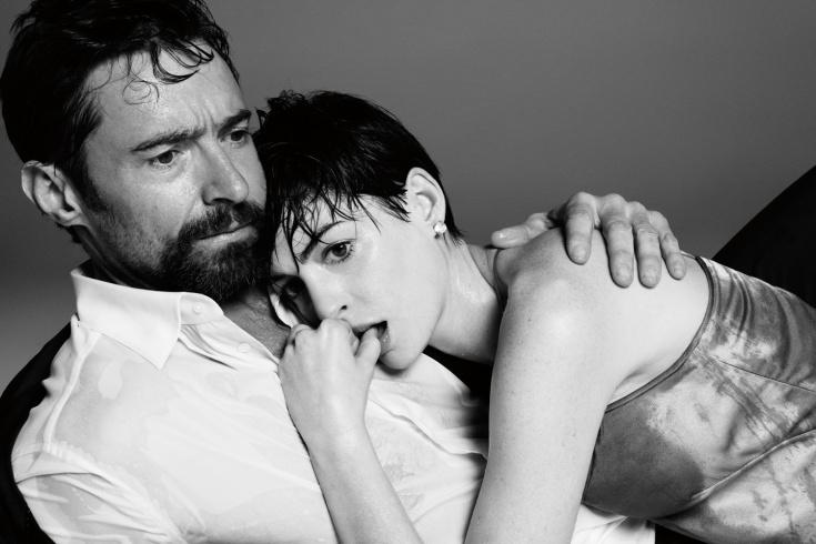 Hugh Jackman és Anne Hathaway