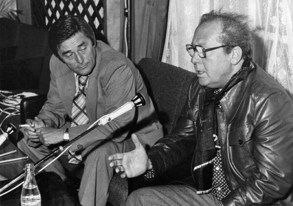 Rapcsányi László és Kállay Ferenc (Fotó: bmknet.hu)