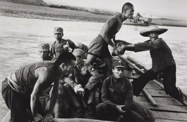 Robert Capa: Zhengzhou mellett, 1938. június-július