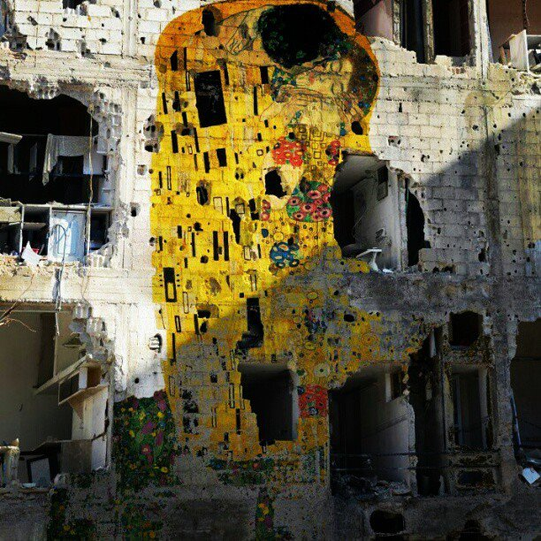 Tammam Azzam: Freedom Graffiti