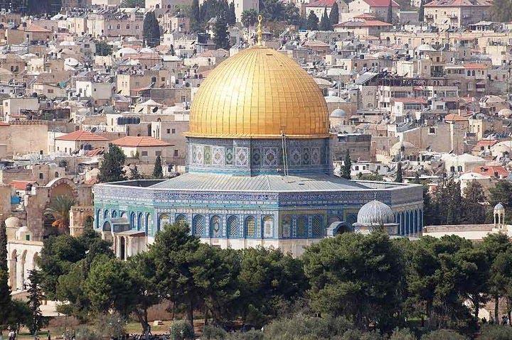 A könyvvásár helyszíne: Jeruzsálem