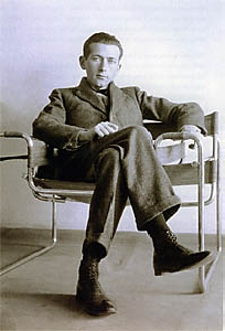 Breuer Marcell a Vaszilij székben