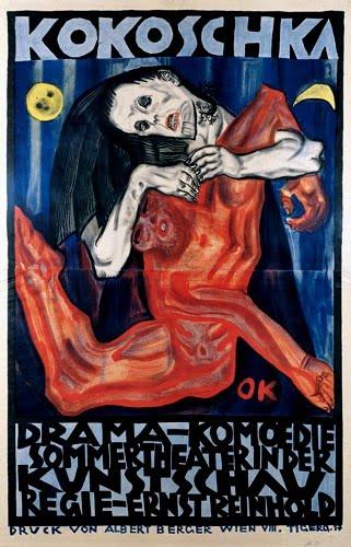 A Gyilkos, az asszonyok reménysége című színdarab plakátja