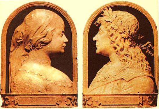 Beatrix és Mátyás király (Forrás: renaissanceconsort.hu)
