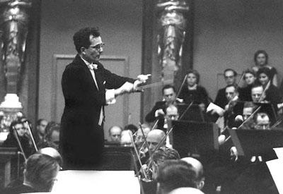 Wolfgang Sawallisch Bécsben, 1966 (Fotó: Theodora Koblinger)