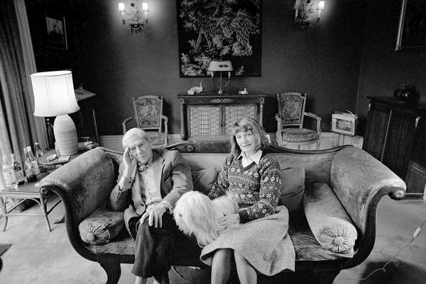 Arthur Koestler és felesége, Cynthia