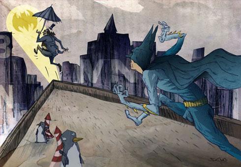 Sebesvári Soma – Batman