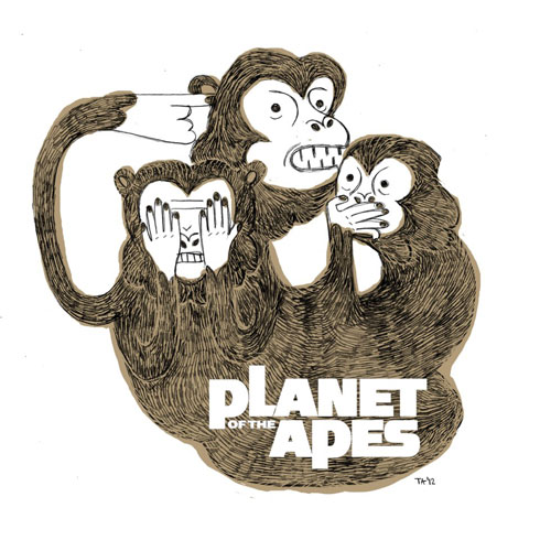 Takács Anikó – A majmok bolygója