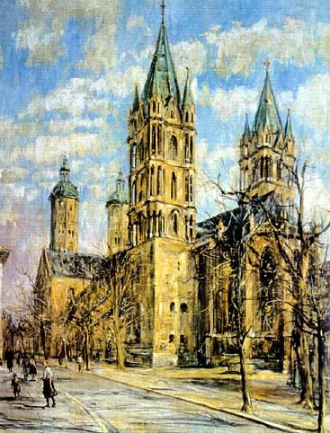 Karl Walther: A Naumburgi dóm
