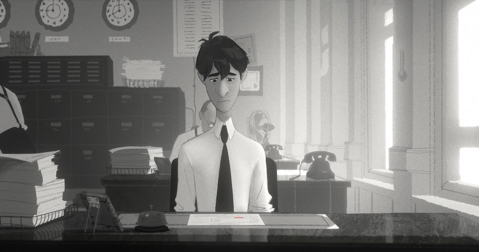 Disney: Paperman