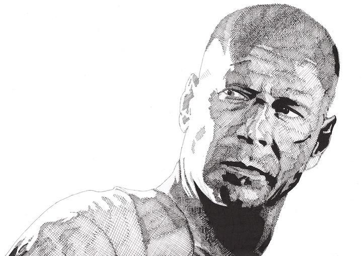 Rik Reimert: Bruce Willis
