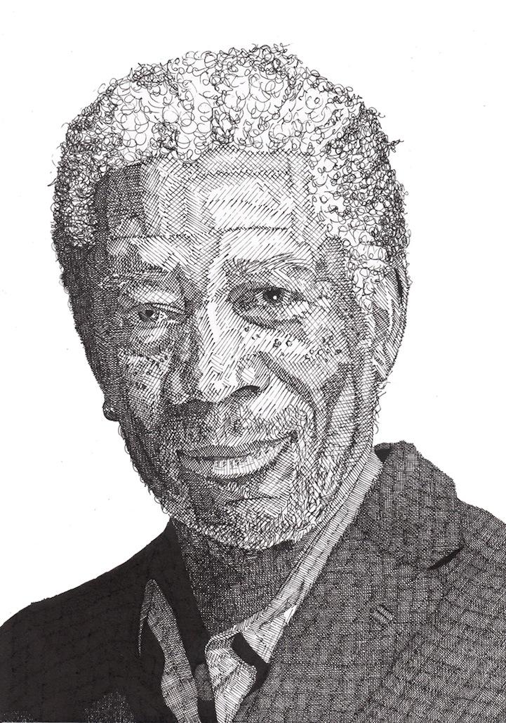 Rik Reimert: Morgan Freeman