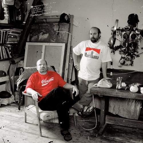Tsesler & Voichenko a műtermükben
