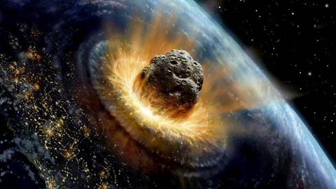 Az egy kilométeres, vagy nagyobb aszteroidák becsapódása globális katasztrófával járna