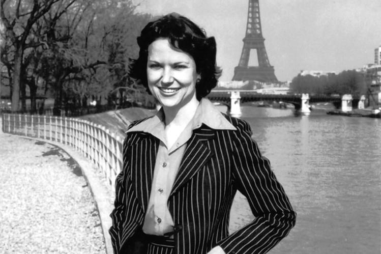 Kati Marton Párizsban, 1980 (Fotó: online.wsj.com)