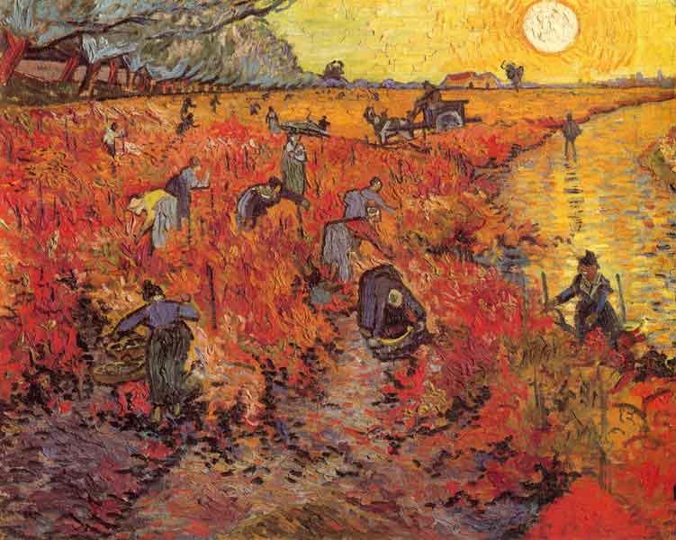 Van Gogh egyetlen életében eladott képe: A vörös szőlőhegy