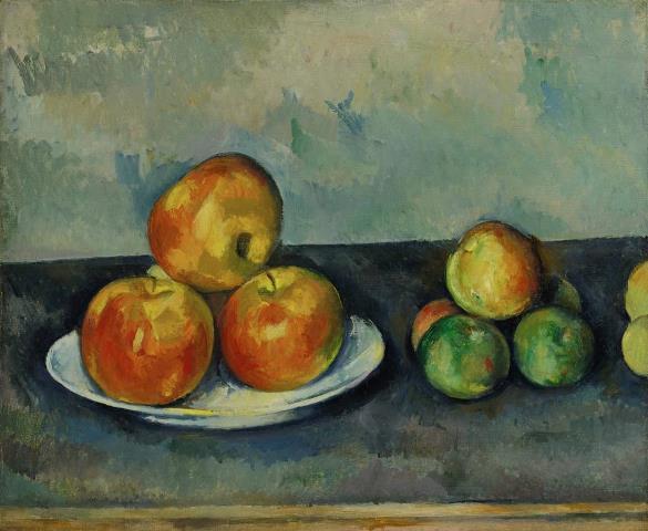 Cézanne: Almák