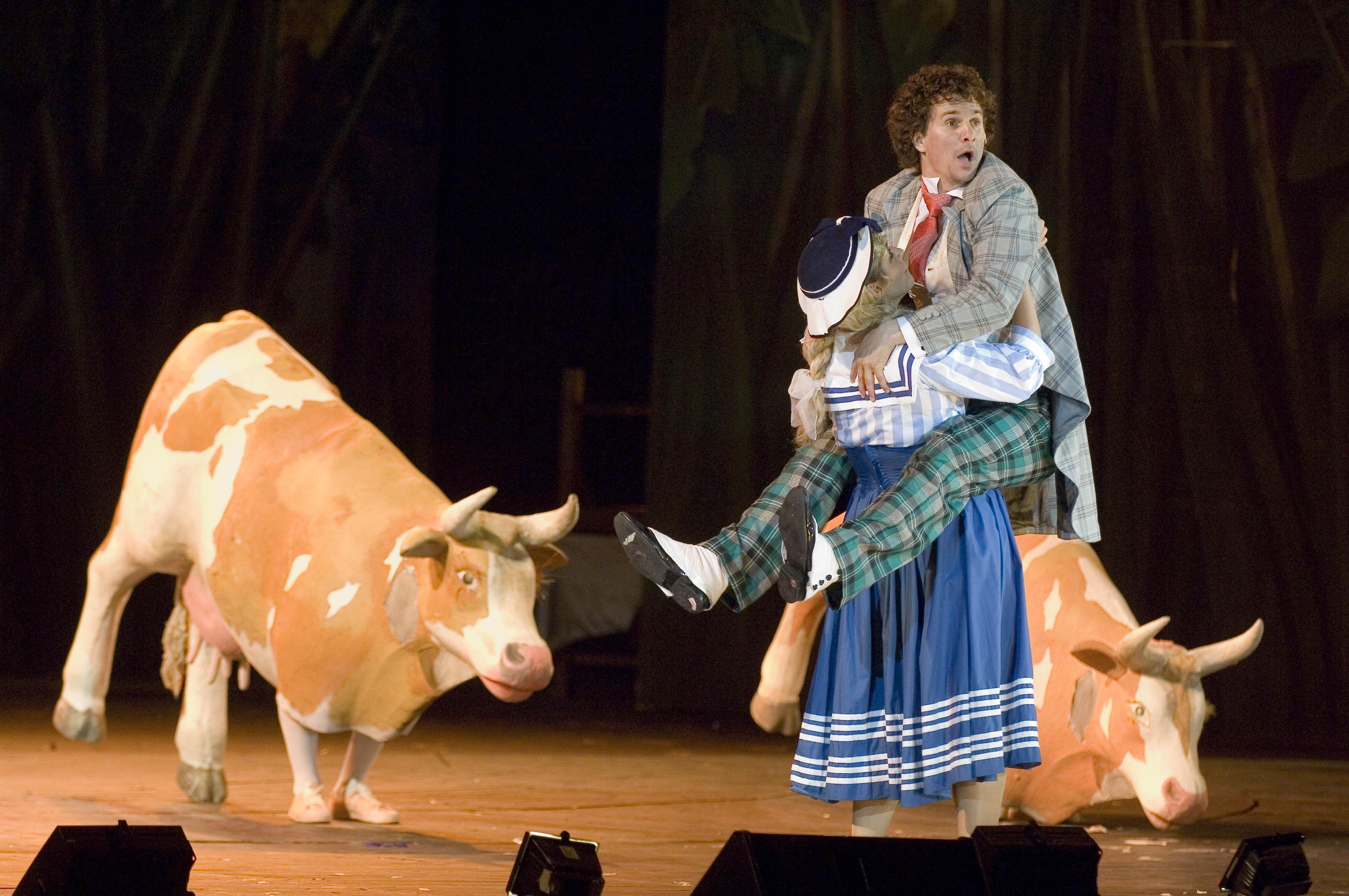 Fotó: Nagy Ervin egy korábbi Dóm téri operett-produkcióban, a Marica grófnőben
