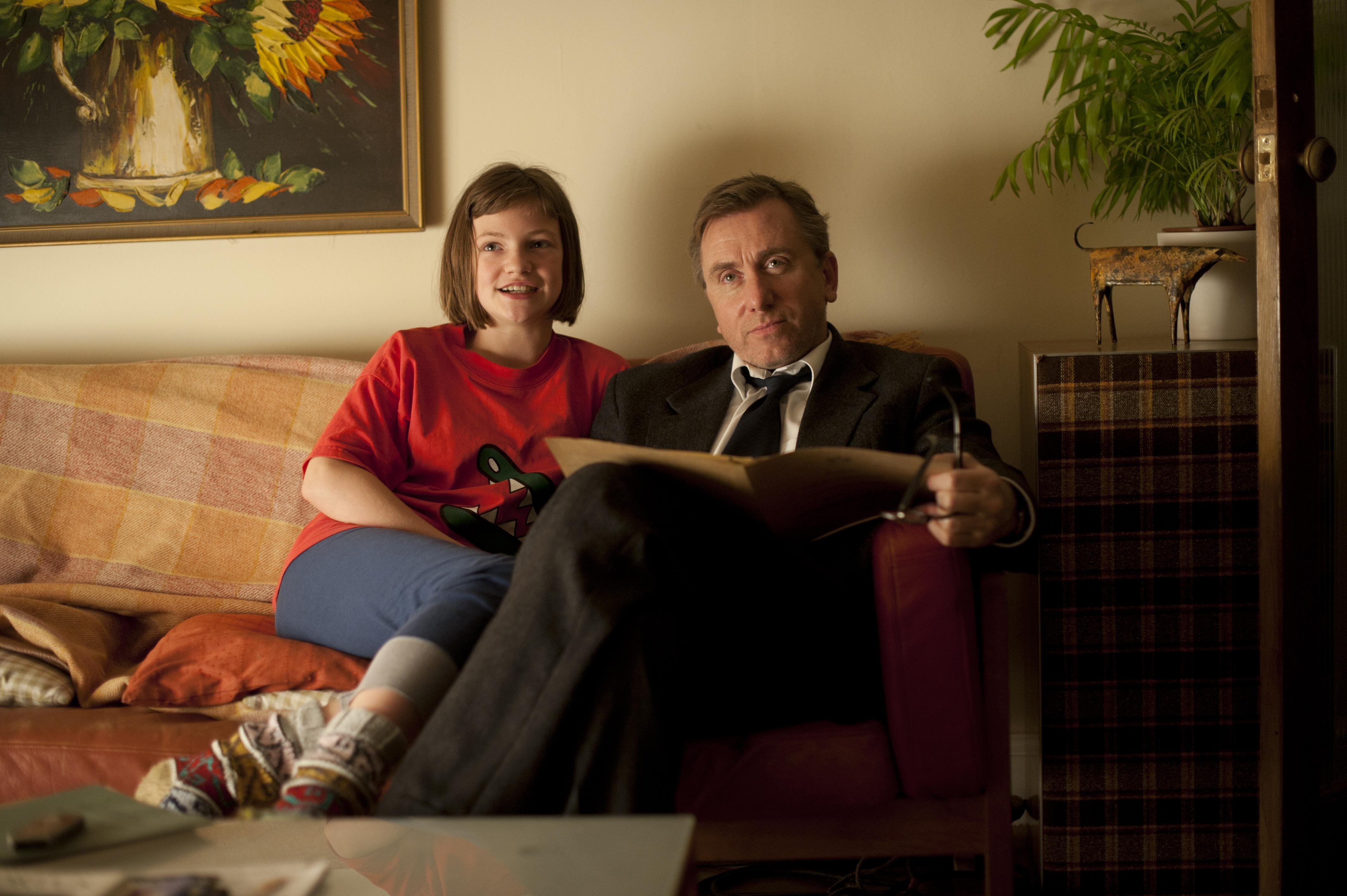 Eloise Laurence és Tim Roth az Ébredésben (Fotó: showfilmfirst.com)