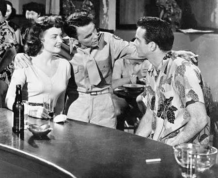 Donna Reed, Frank Sinatra és Montgomery Clift az 1953-as filmben