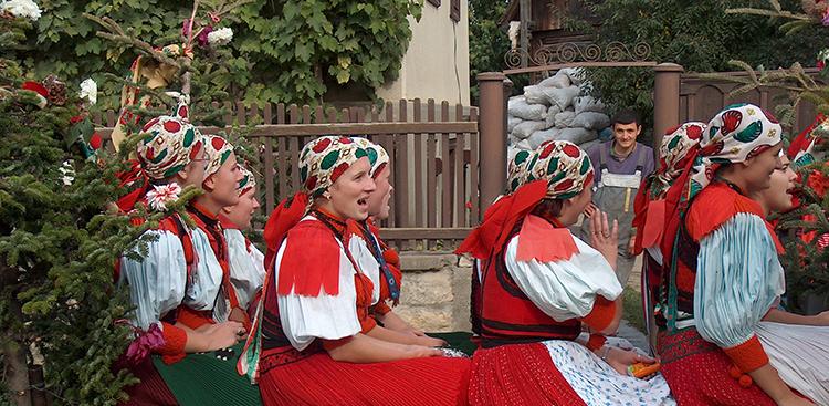 Kalotaszegi szüreti fesztivál (Fotó: Fülemile Ágnes, Balassi Intézet)