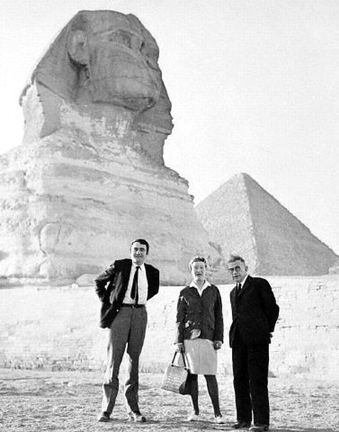 Claude Lanzmann, Simone de Beauvoir és Jean Paul Sartre