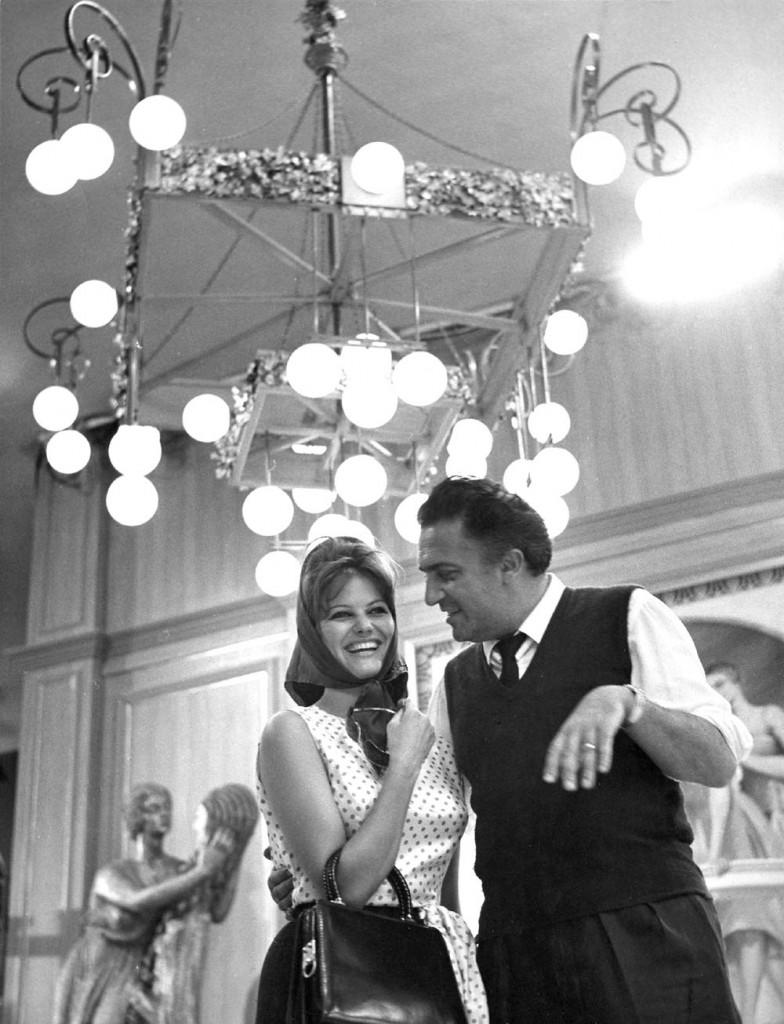 Cardinale és Fellini