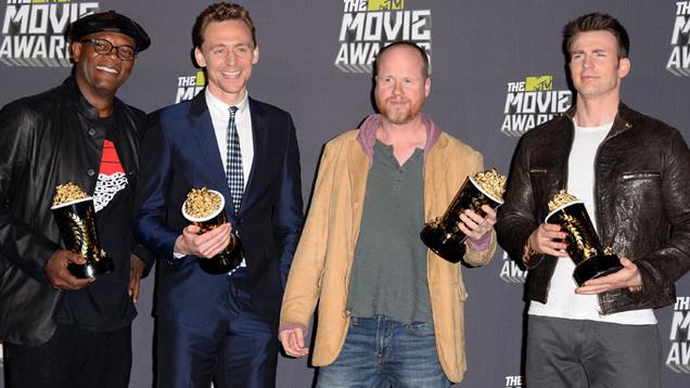 Bosszúállók a díjátadón (Fotó: tv3.ie)