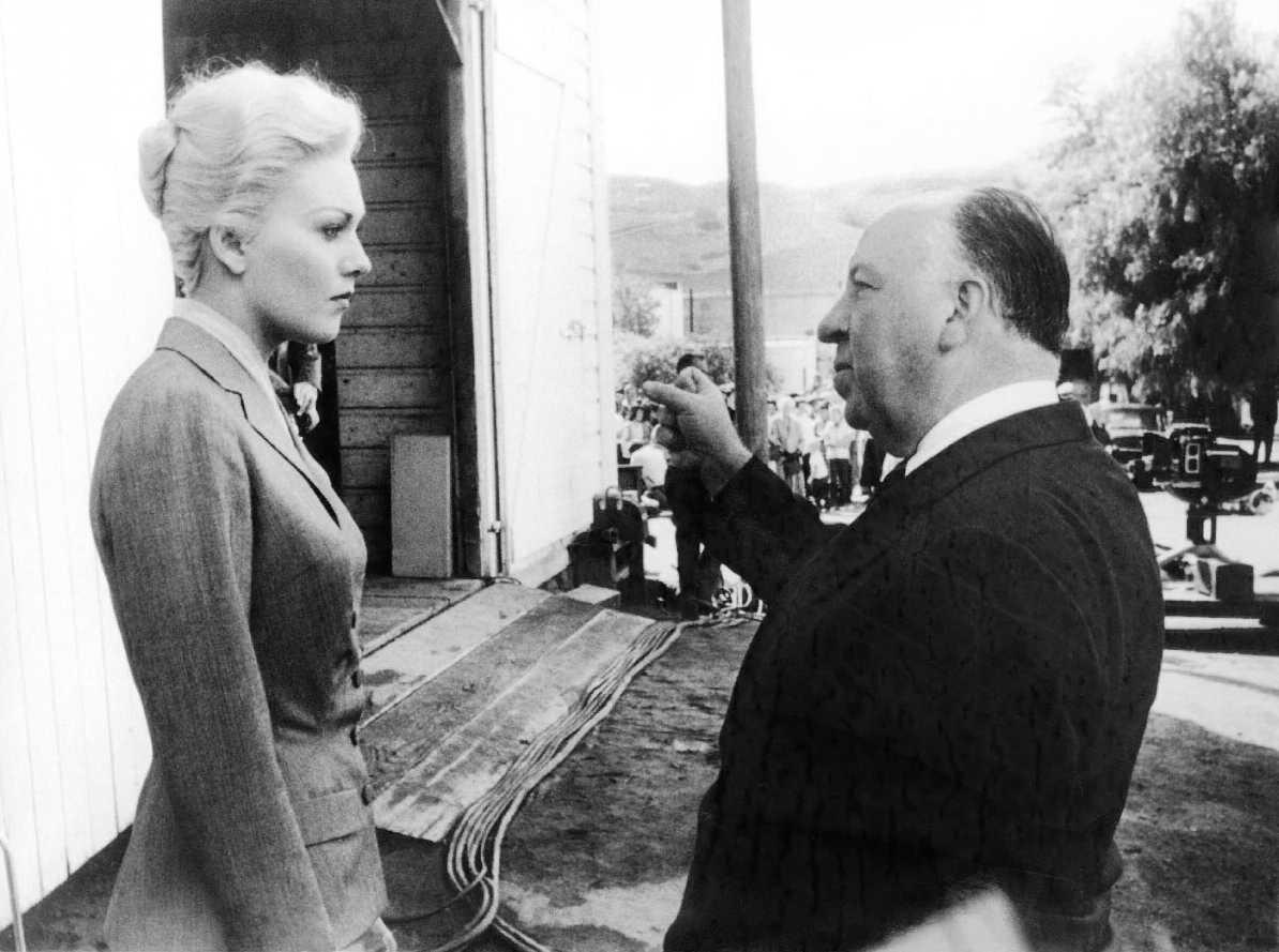 Kim Novak és Alfred Hitchcock