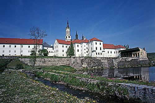 A kolostor Vyssí Brodban