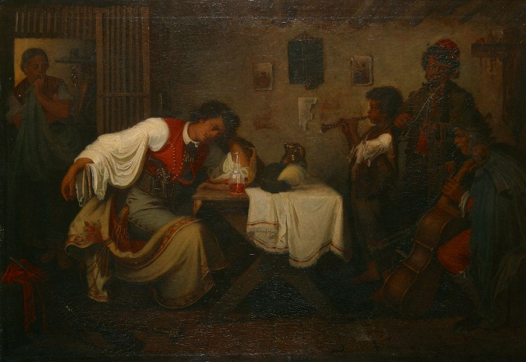 Búsuló betyár (1865)