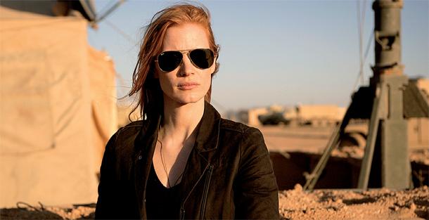 Jessica Chastain a Bin Láden hajszában