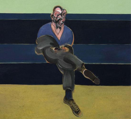 Francis Bacon: Study for Portrait of P.L. (fotó: bornrich.com)