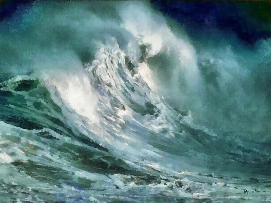 Russ Harris: Cunami (Forrás: fineartamerica.com)