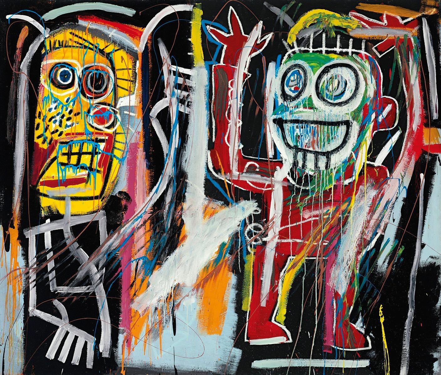Jean-Michel Basquiat: Dustheads