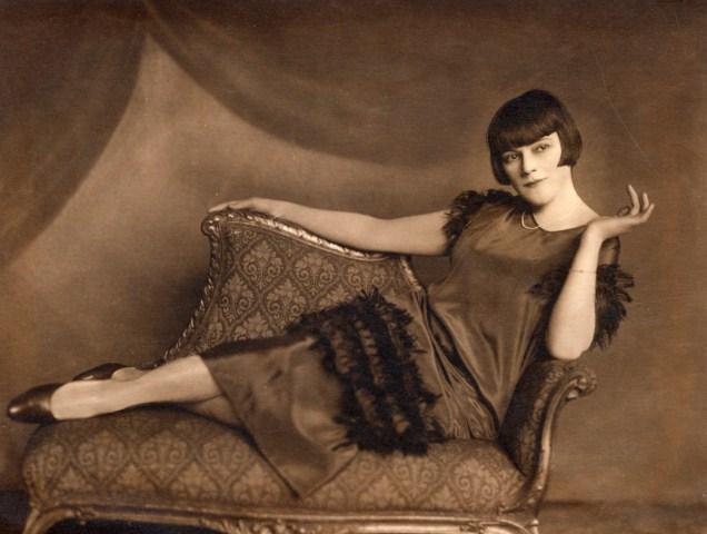Bajor Gizi 1912-ben (Fotó: bajorgizi.hu)