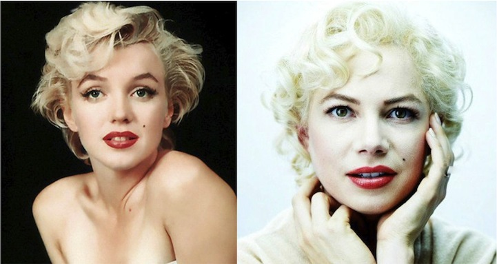 Marilyn Monroe (Michelle Williams - Egy hét Marilynnel)