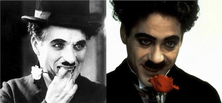 Charlie Chaplin (Robert Downey Jr. - Chaplin)