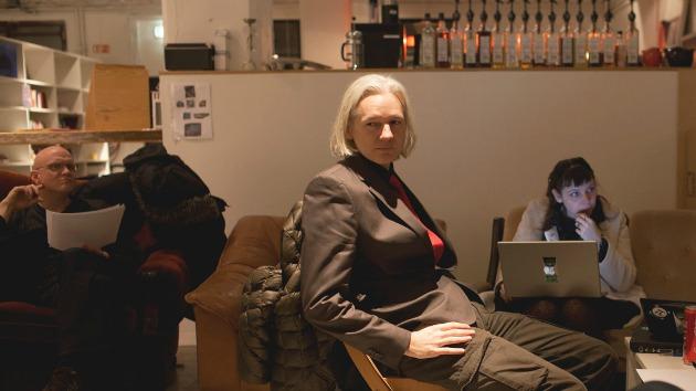 Julian Assange a filmben (Fotó: filmguide.sundance.org)