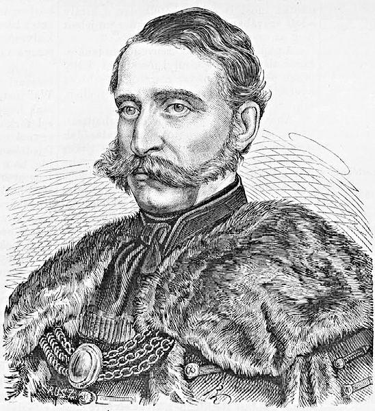 Rusz Károly metszete Festetics Györgyről (Forrás: commons.wikimedia.org)